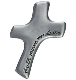 Cathedral Art Faith Moves Mountains Palm Comfort Cross