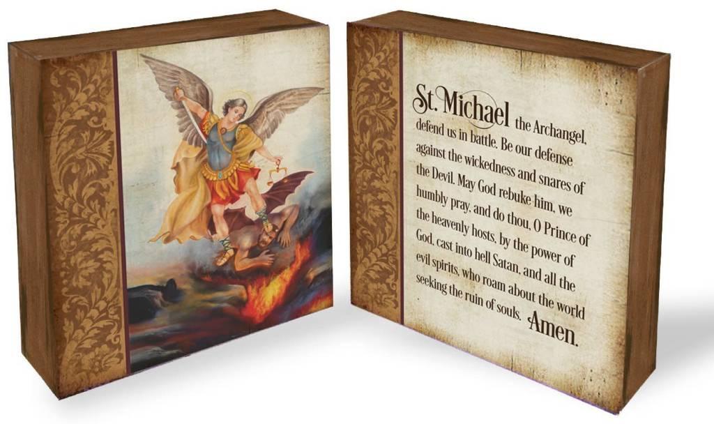 Abbey Press Saint Michael Block