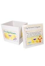 Cathedral Art Sacrament Keepsake Box
