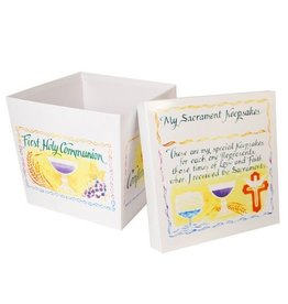 Cathedral Art Sacrament Keepsake Box