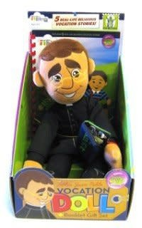 Wee Believers Father Juan Pablo Vocation Doll
