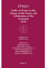 Paulist Press 2019 Ordo Book 21: Order of Prayer in the Liturgy Of The Hours And Celebration Of The Eucharist for the Ecclesiastical Province of Miami
