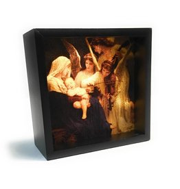 Simply Catholic Night Light Box Song of the Angels Bouguereau