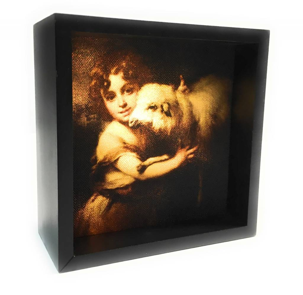 Simply Catholic Night Light Box John Baptist Murillo LED Lights