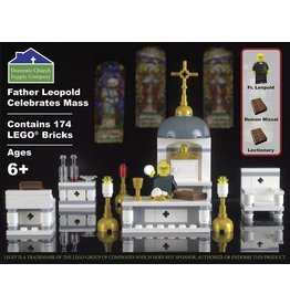 Domestic Church Supply Company Father Leopold Celebrates Mass