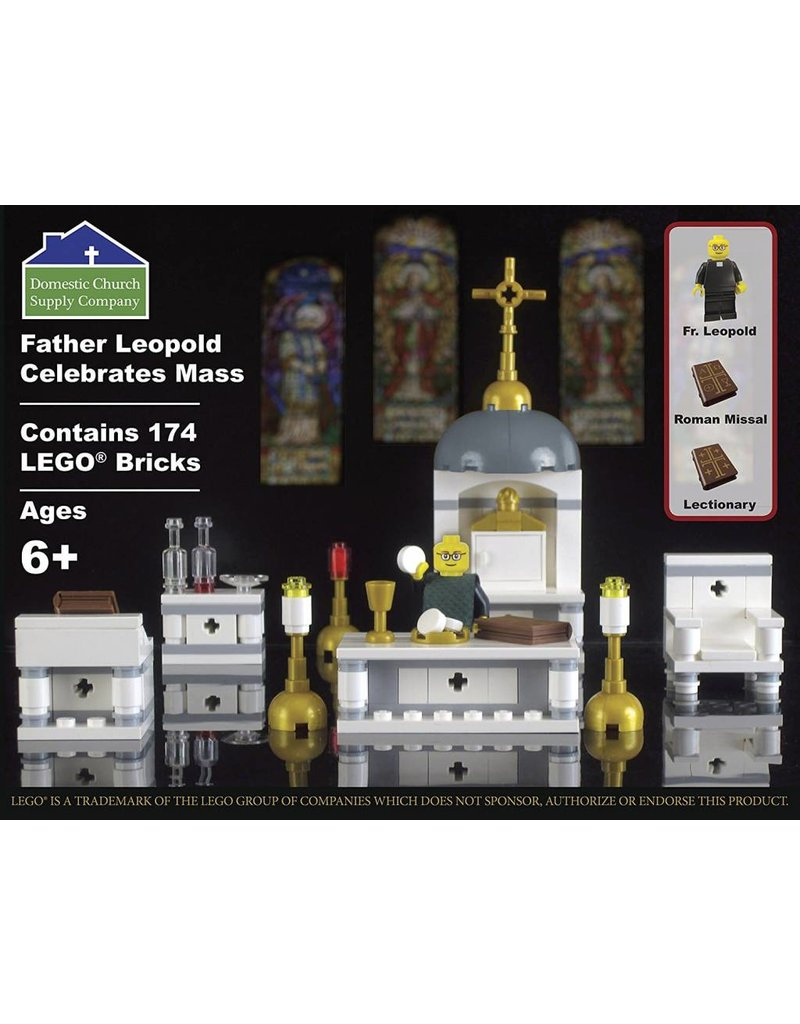 Domestic Church Supply Company Father Leopold Celebrates Mass