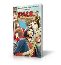 Manga Hero Paul: Tarsus to Redemption