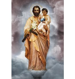 Thomas Valle Thomas Valle 8 X 12 St. Joseph and the Child Jesus Print