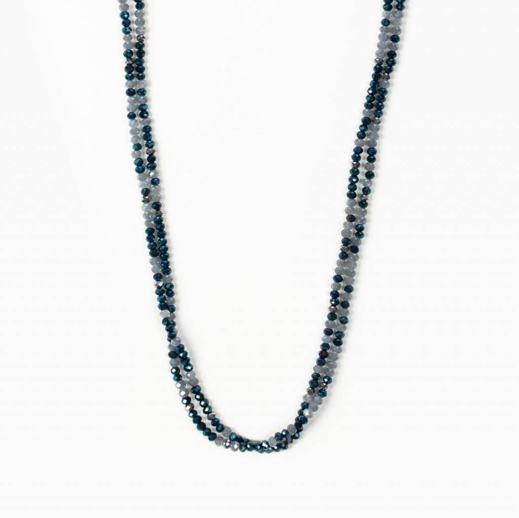 My Saint My Hero Archangel Michael Morse Code Prayer Rope Necklace