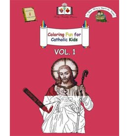 Holy Family Press Coloring Fun for Catholic Kids Book Vol. 1