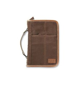 Zondervan Aviator Brown Suede Extra Large Book and Bible Cover