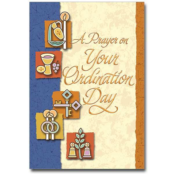 The Printery House A Prayer on Your Ordination Day Card
