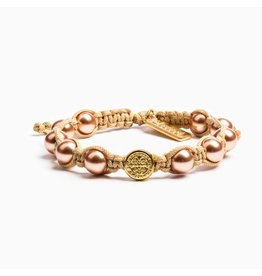My Saint My Hero Divine Blessings Bracelet Rose and Gold
