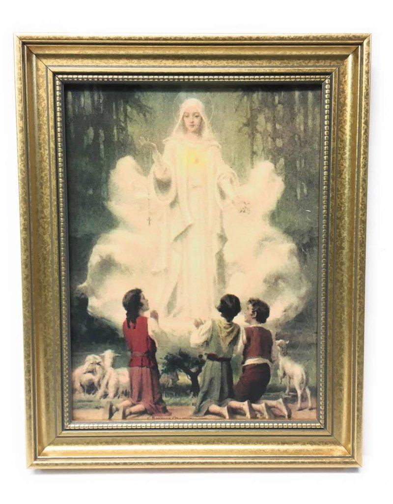 "John Brandi 11.5"" x 14"" Our Lady of Fatima Framed Art"