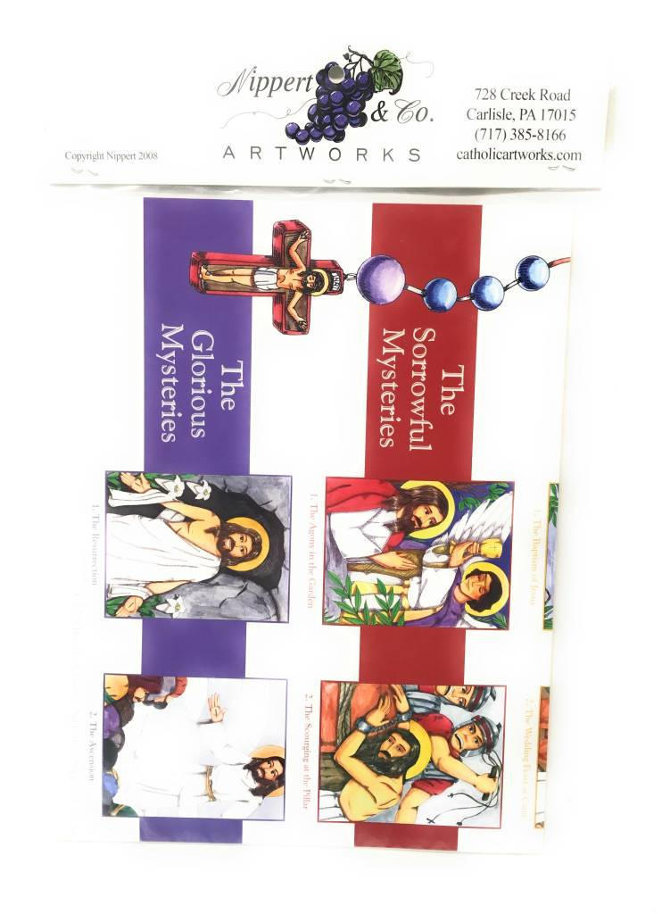 Nippert & Co. Artworks Rosary Poster Pack