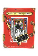 Nippert & Co. Artworks Sacred Art Coloring Portfolio - Saints of the USA