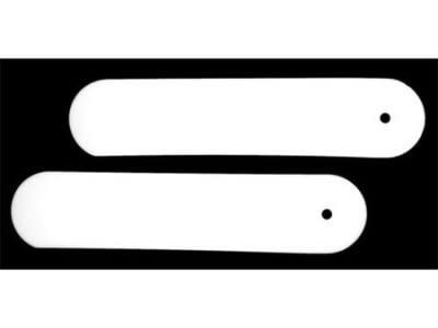 """R.J. Toomey 8"""" Tab Collar Inserts (Pack of 2)"""