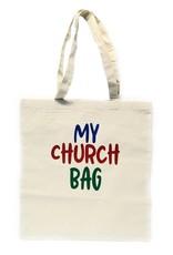"Humming Bird Crafts ""My Church Bag"" Canvas Bag"