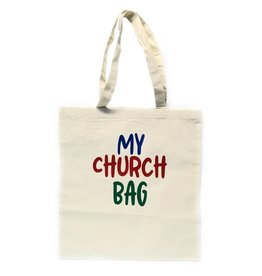 "Humming Bird Crafts ""My Church Bag"" Canvas Bag"