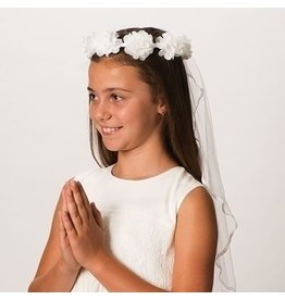 "Roman, Inc 30"" Long Emily First Communion Veil"