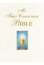Saint Benedict Press My First Communion Bible (White)