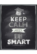 Keep Calm And Be Smart Graduation Notebook