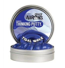 "Crazy Aaron's Putty World 4"" Tidal Wave Magnetic Thinking Putty Tin"