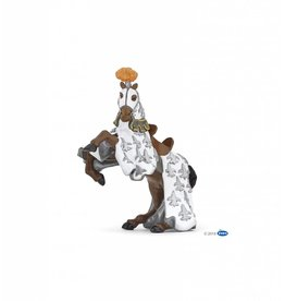 Papo White Prince Philip Knight Horse