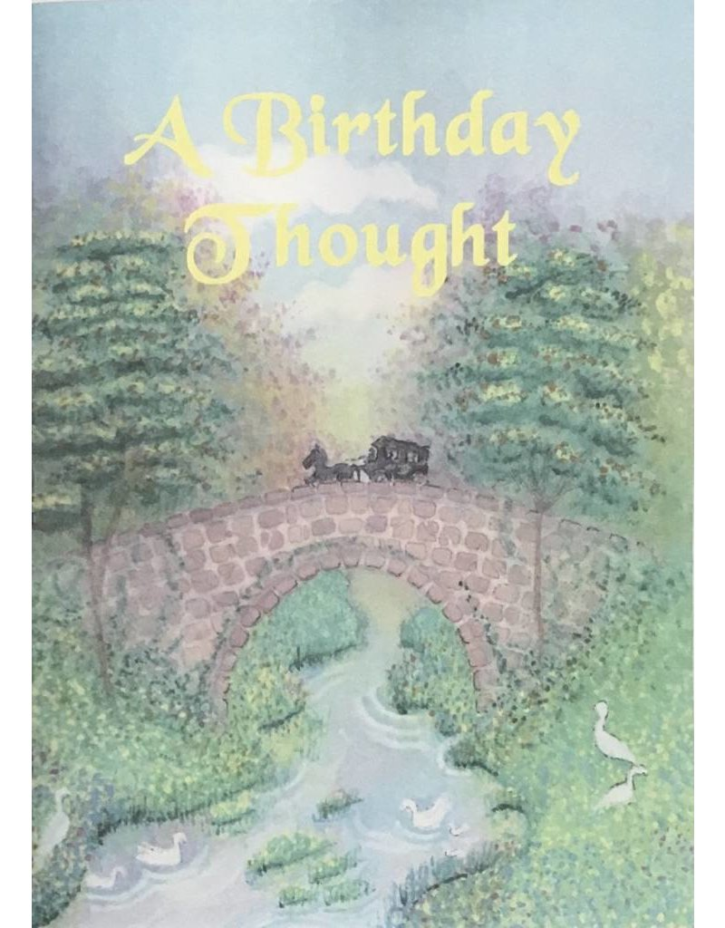 Fairest of All A Birthday Thought