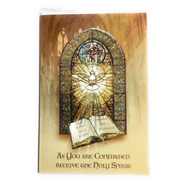 WJ Hirten As You Are Confirmed Receive the Holy Spirit Greeting Card