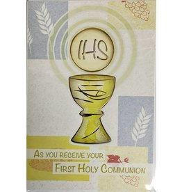 WJ Hirten As You Receive Your First Holy Communion Greeting Card