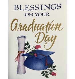 The Printery House Blessings on Your Graduation Day Card