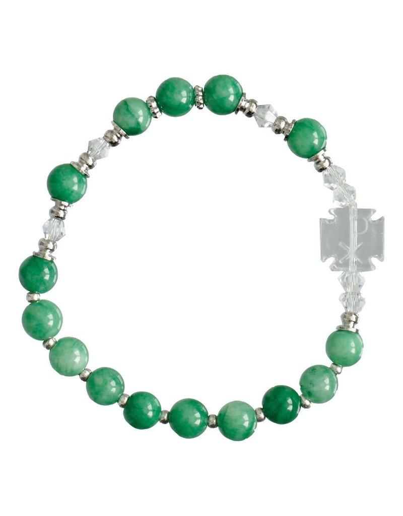 Sine Cera Children's Gemstone Rosary Bracelet