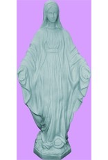 "Space Age Plastics 32"" Our Lady Of Grace - Granite Finish"