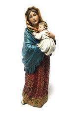 """Christian Brands Madonna of the Streets Figurine Virgin Mary Statue 8"""""""