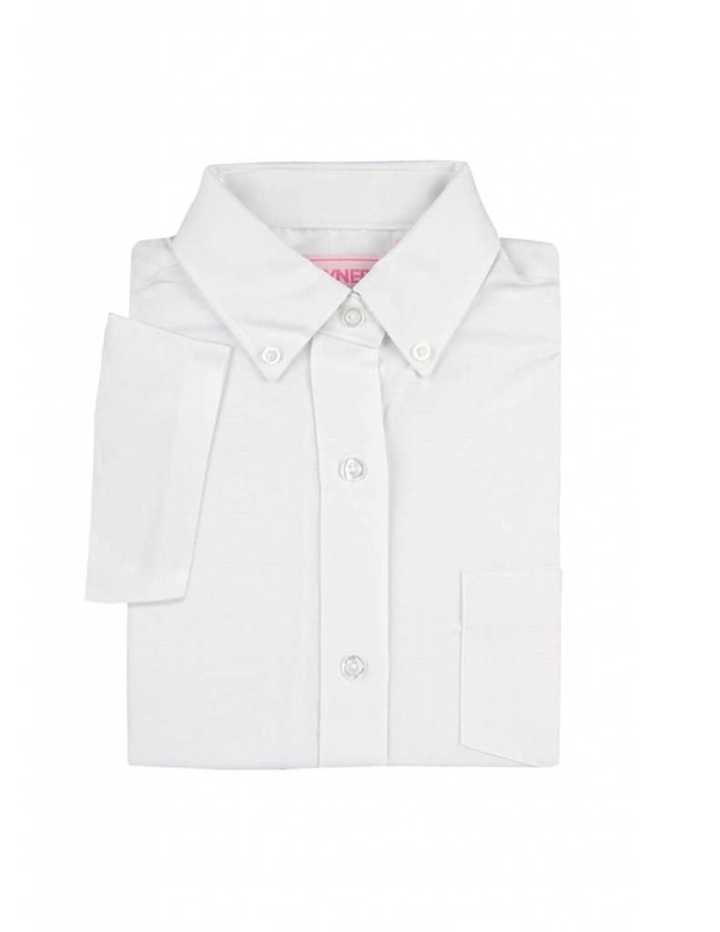 Elderwear Women's White Oxford Shirt (Small)