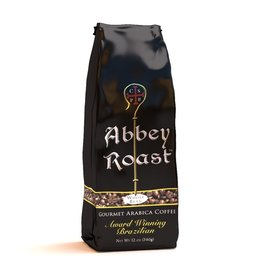 Abbey Roast Abbey Roast Coffee Brazilian Roast 12 oz (ground)
