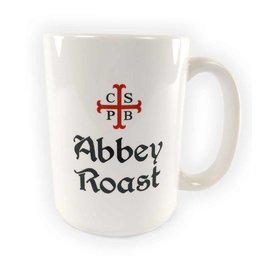 Abbey Roast Abbey Roast Coffee Mug 15 oz. White