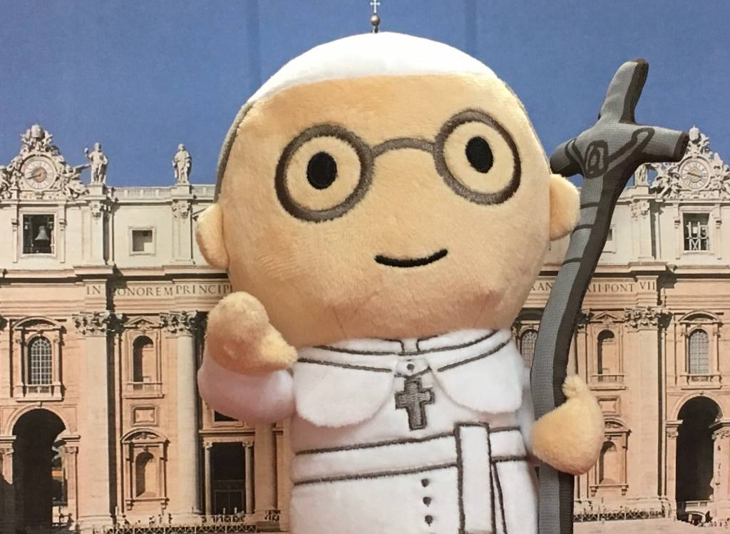 Little Drops of Water Pope Francis Doll Plush: Little Drops of Water