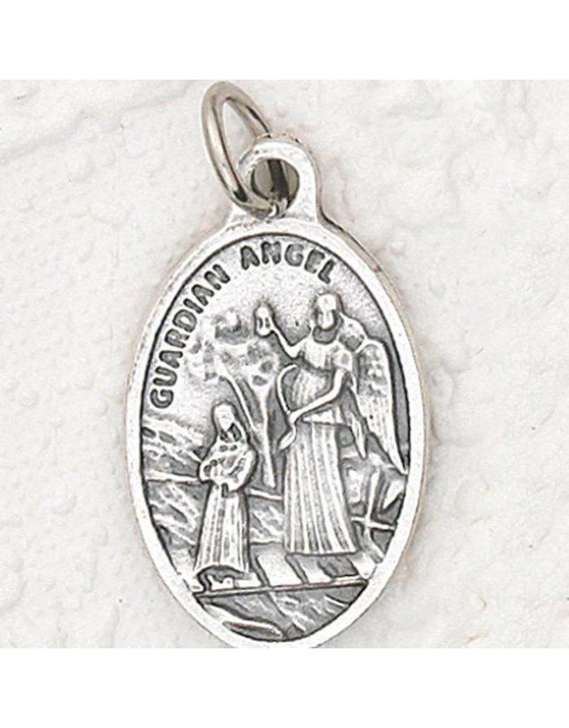 "Lumen Mundi 1"" Guardian Angel Oval Medal"