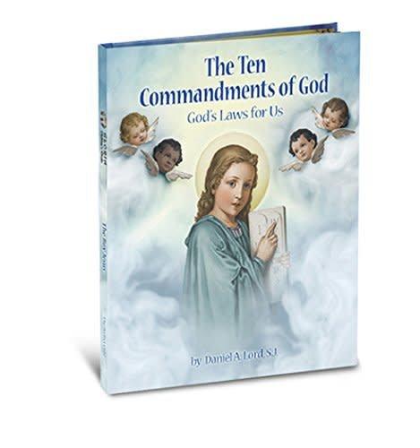 WJ Hirten Ten Commandments Gloria Book