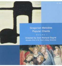 Paraclete Press Gregorian Melodies Popular Chant 1