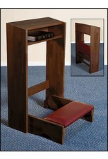 Robert Smith Folding Kneeler - Walnut Finish