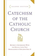 Doubleday Catechism of the Catholic Church (White, Hardcover)