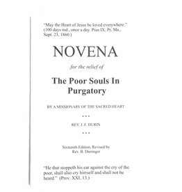 JMJ Books and Religious Goods Novena for the Relief of The Poor Souls in Purgatory