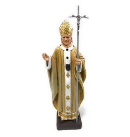 "Avalon Gallery 9"" St. John Paul II Resin Statue"