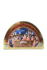 Moshy Brothers, Inc Last Supper Icon Arched Plaque