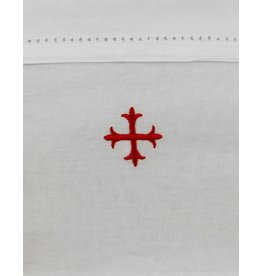 "MDS 100% Cotton Lavabo Towel with Red Cross 20"" x 16"""