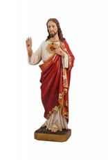 """Fiat Imports 24"""" Sacred Heart of Jesus Statue"""