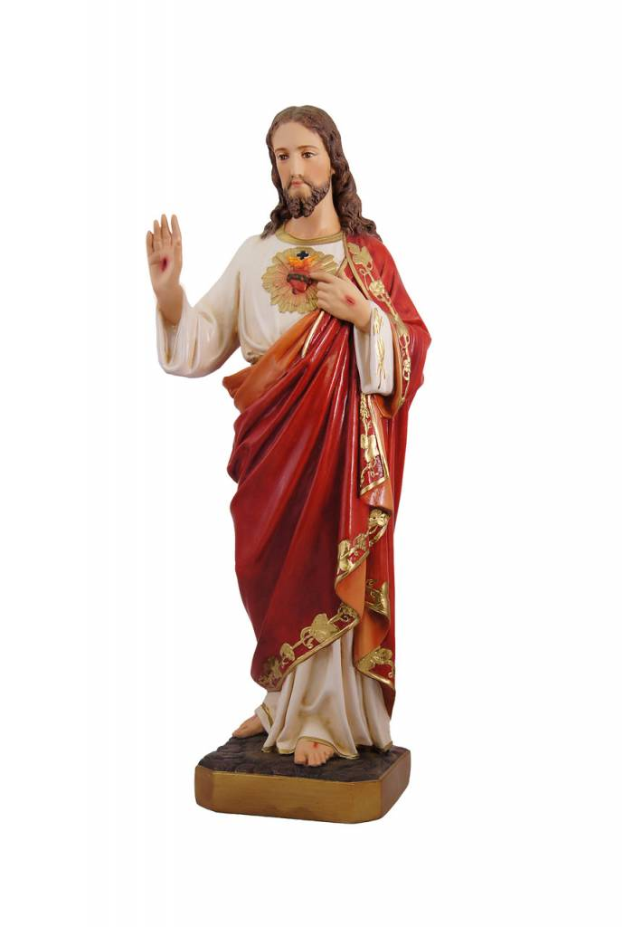 "Fiat Imports 23"" Sacred Heart of Jesus Statue"